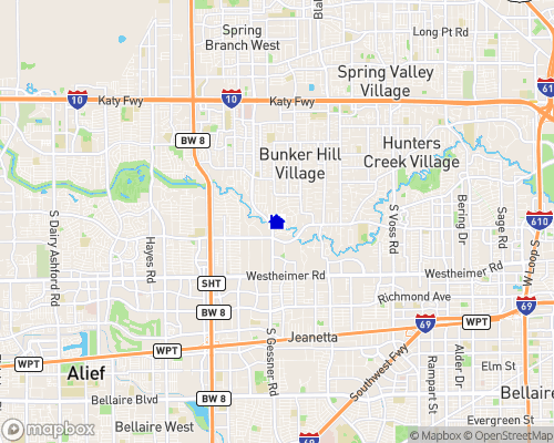 Buffalo Bayou Map