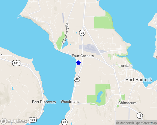 Puget Sound - Discovery Bay Map
