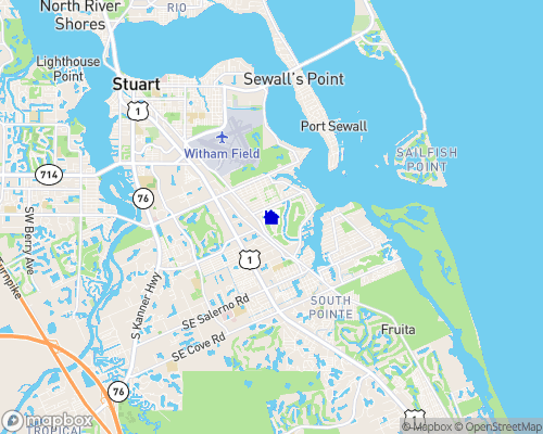 Lakes at Stuart Yacht and Country Club Map