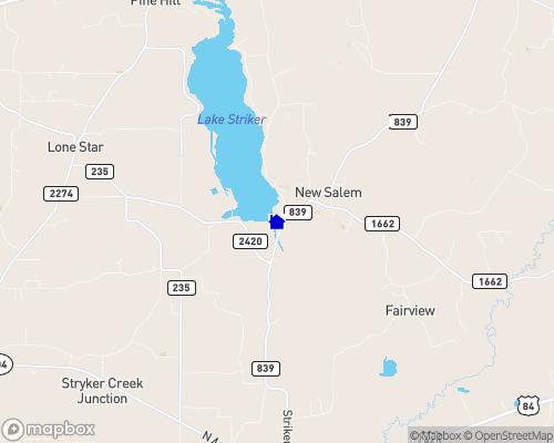 Lake Striker Map