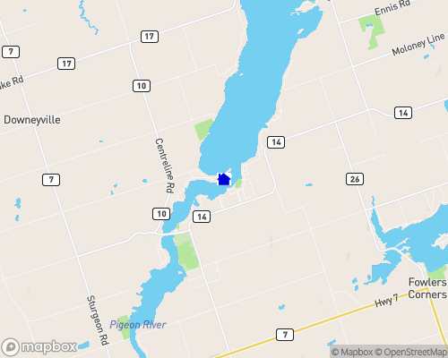 Pigeon River Map