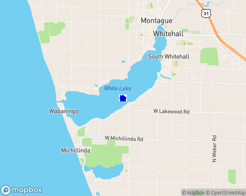 White Lake - Muskegon County Map