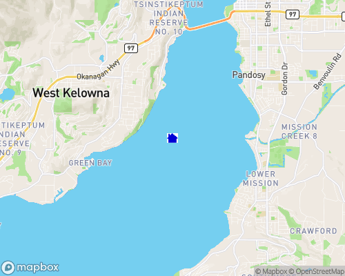 Okanagan Lake Map
