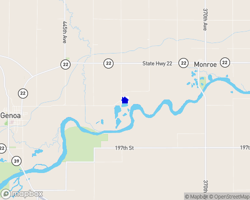 Willow Wind Lake Map