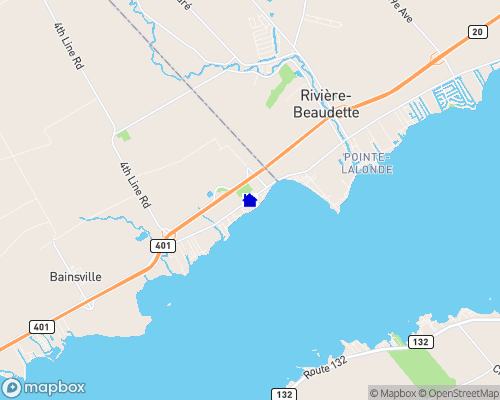 St. Lawrence River - Glengarry Map