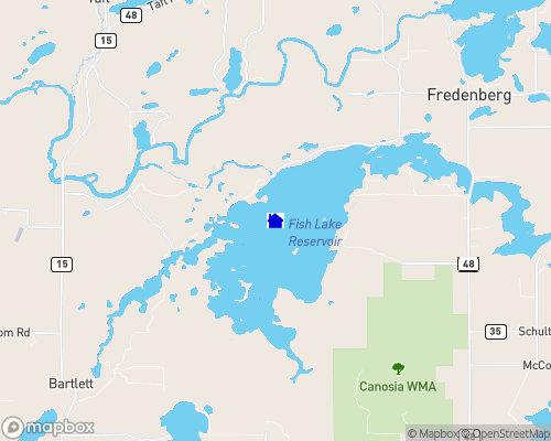 Fish Lake - Otter Tail County Map