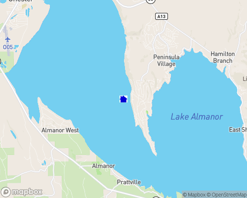 Lake Almanor Map