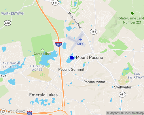 Pocono Summit Lake Map