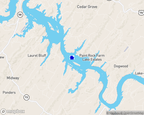 Tennessee River - Roane County Map