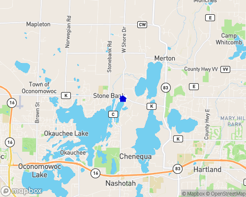 Moose Lake Waukesha County Map