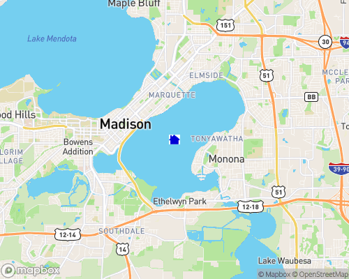 Lake Monona Map