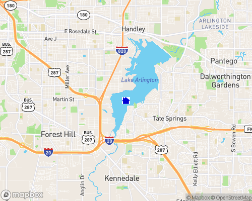 Lake Arlington Map