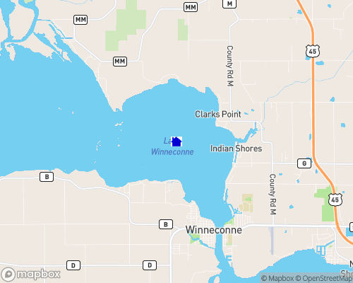 Lake Winneconne Map