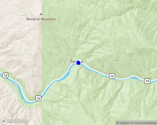Clearwater River - Idaho County Map
