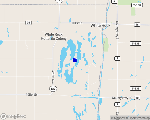 Lake Traverse Map