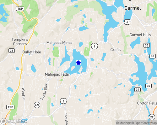 Lake Mahopac Map