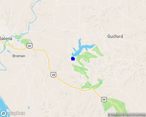 Galena Lake Map