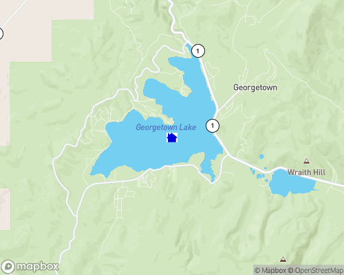 Georgetown Lake Map