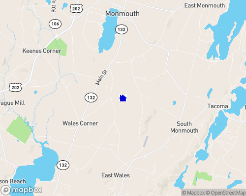 Wilson Pond - Kennebec County Map