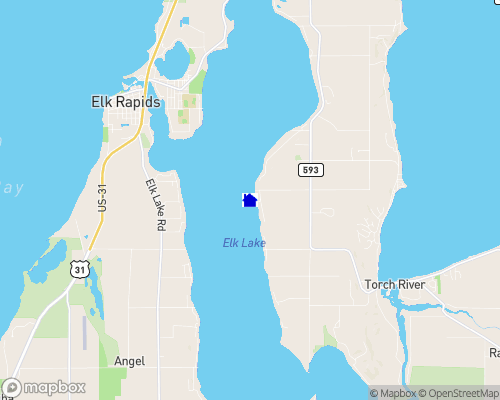 Elk Lake Map