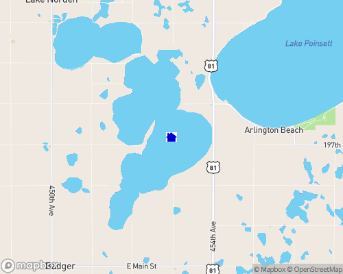 Lake Albert Map