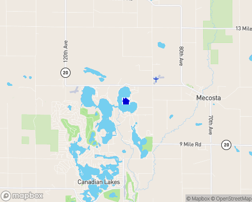 Mecosta Michigan Map.Blue Lake Mecosta County Homes For Sale Real Estate Lakefront