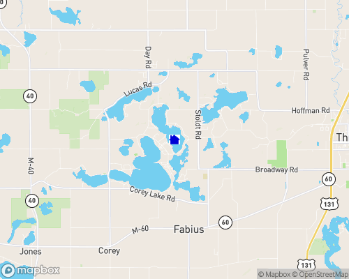 Clear Lake - St. Joseph County Map