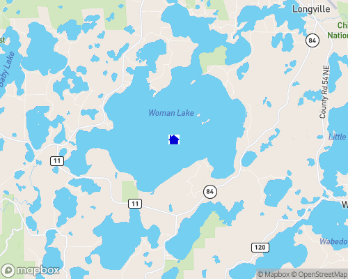 Woman Lake Map
