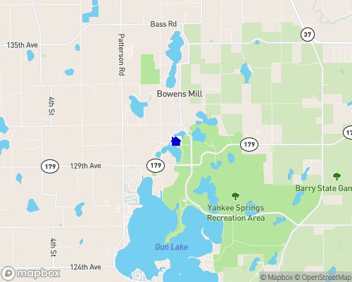 Payne Lake Map