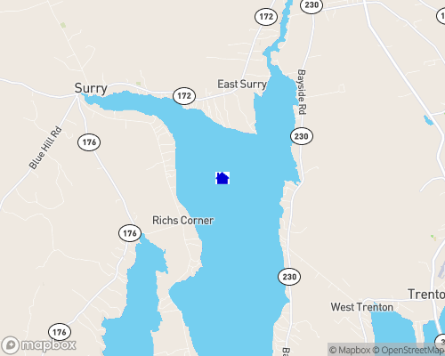 Union River Bay Map