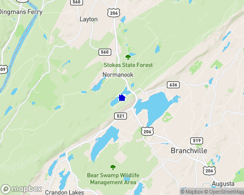 Kittatinny Lake Map