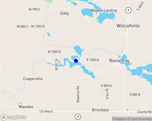 Waldron Lake Map
