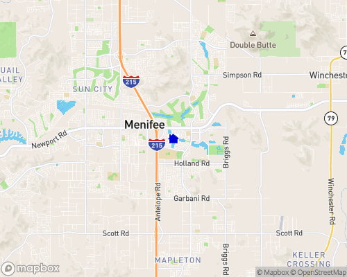 Menifee Lakes Map