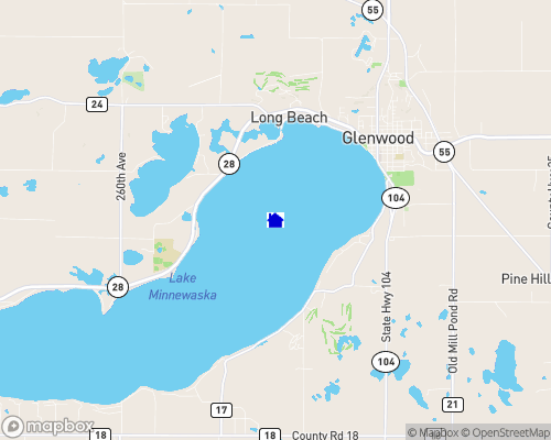 Lake Minnewaska Map
