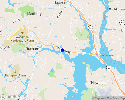 Oyster River Map