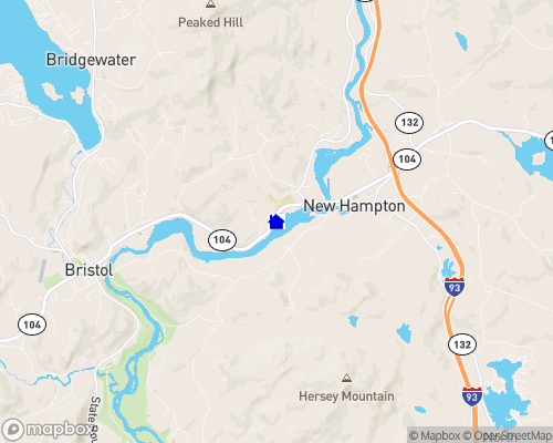 Pemigewasset River Map