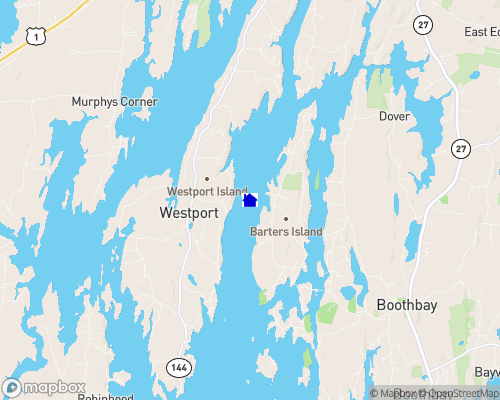 Sheepscot River Map