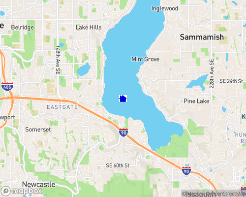 Lake Sammamish Map
