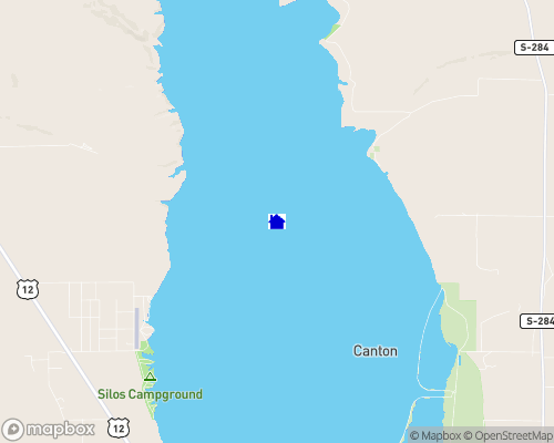 Canyon Ferry Lake Map