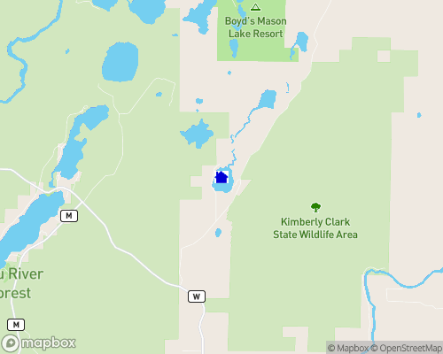 Price Lake Map