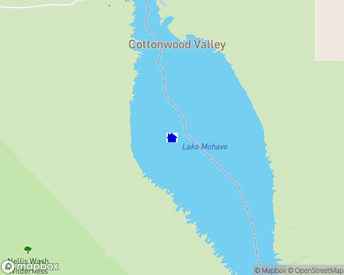 Lake Mohave Map