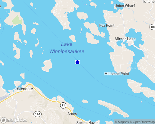 Lake Winnipesaukee Map