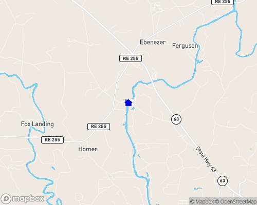Angelina River Map