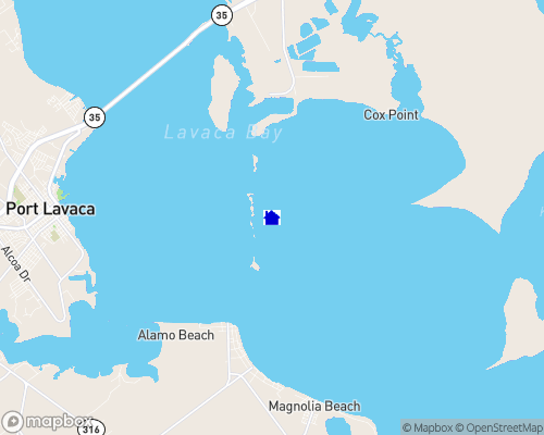 Gulf Coast - Port Lavaca Map