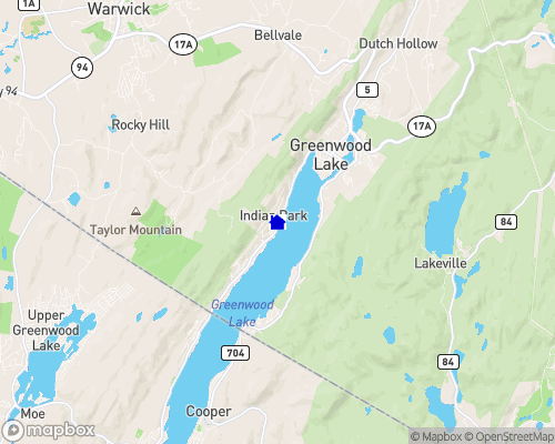 Greenwood Lake Map