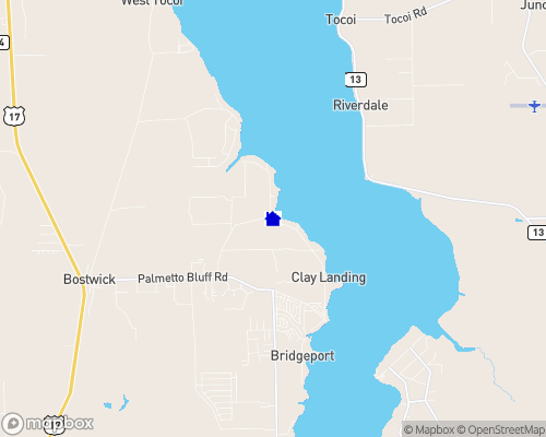 St. Johns River - Putnam County Map