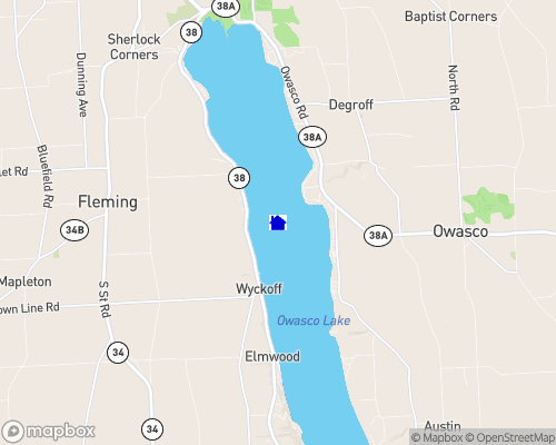 Owasco Lake Map