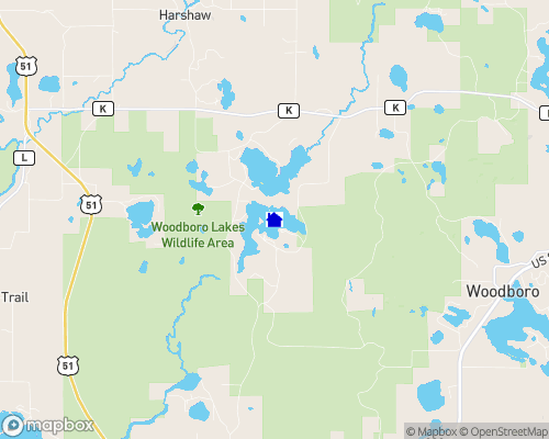 Hancock Lake Map