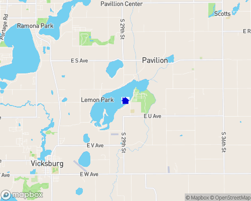 Indian Lake - Kalamazoo County Map
