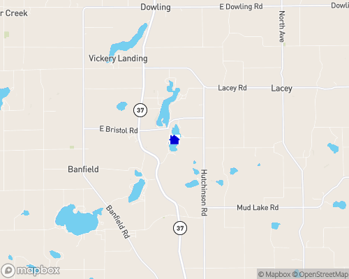 Long Lake - Barry County Map
